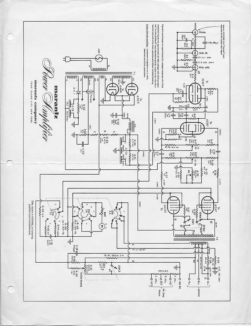 marantz 8b schematic  u2013 the wiring diagram  u2013 readingrat net